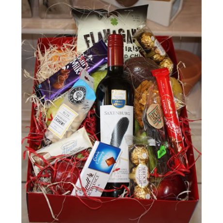 _Wine and Snack Hamper-R600
