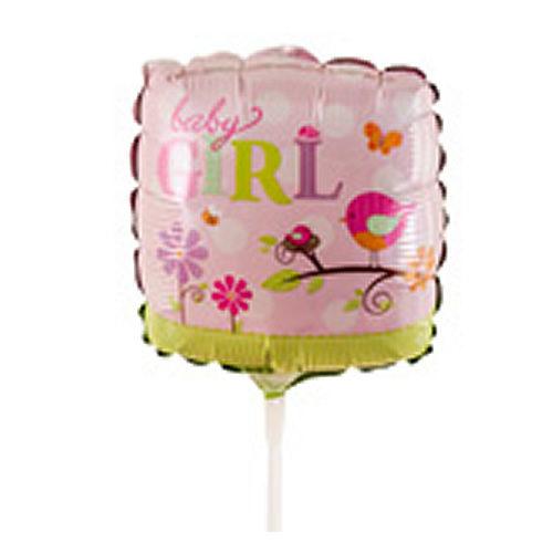 Baby Girl Pink Balloon