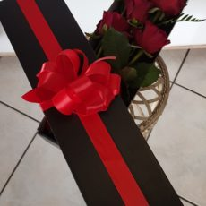 Red Rose arrangement in gift box